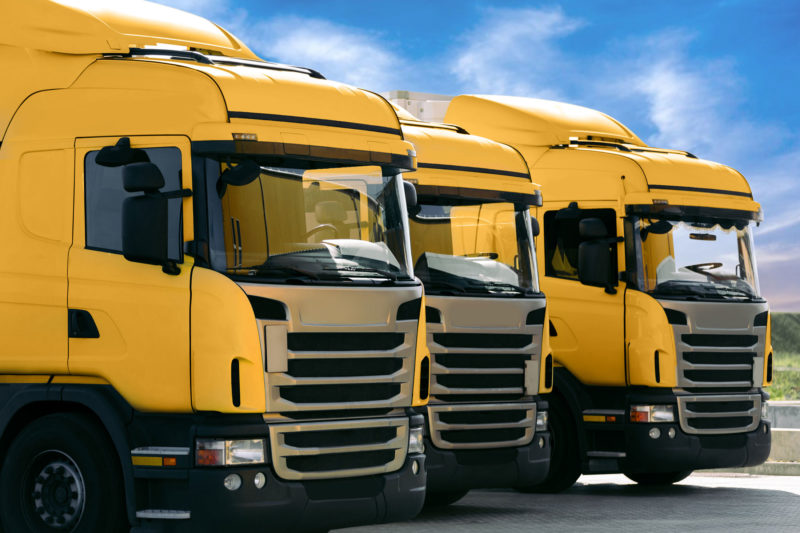 Summers Insurance fleet of vehicles