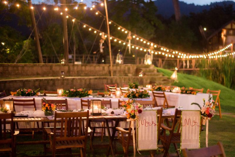 Summers Insurance outdoor event wedding