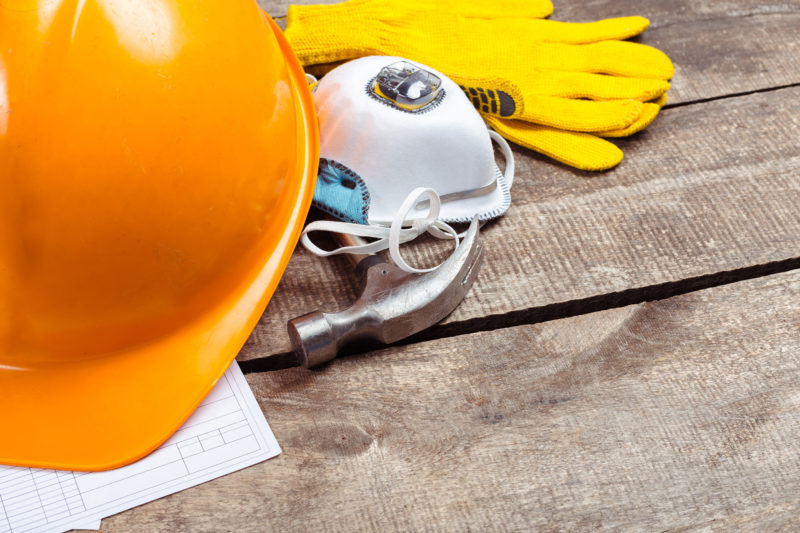 Summers Insurance Liability hardhat-gloves