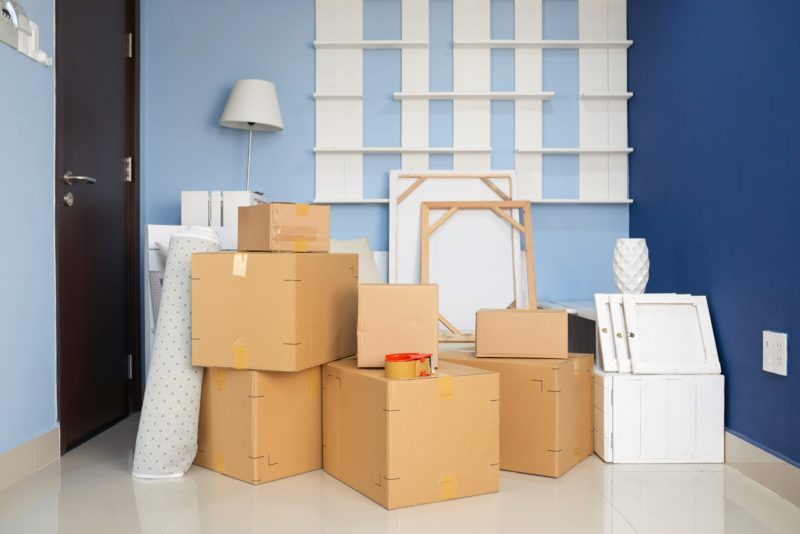 Moving house and contents